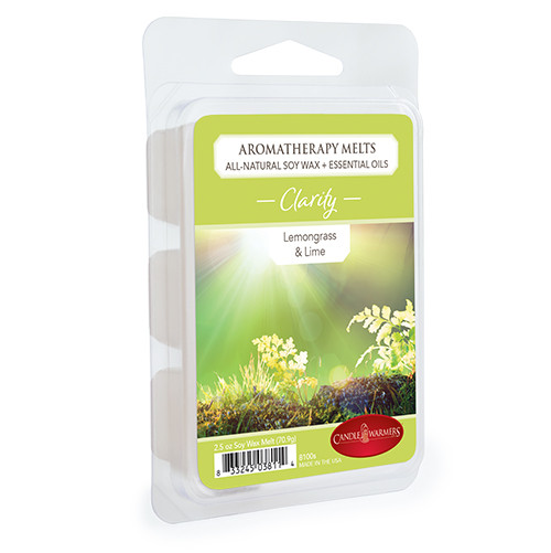 Clarity (Lemongrass & Lime) Aromatherapy Wax Melt by Candle Warmers