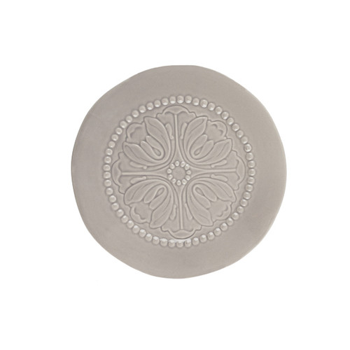 Medallion Stone Color Salad Plate (Set of 4) - GG Collection