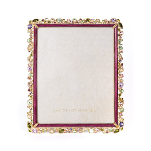 """Jay Strongwater Theo Bejeweled 8"""" x 10"""" Frame - Special Order"""
