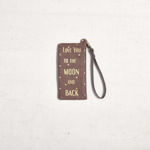Moon Child Card Case by Mona B