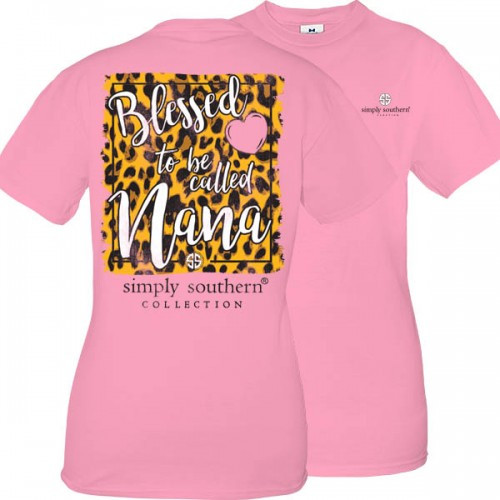 Small Blessed To Be Called Nana Short Sleeve Tee by Simply Southern