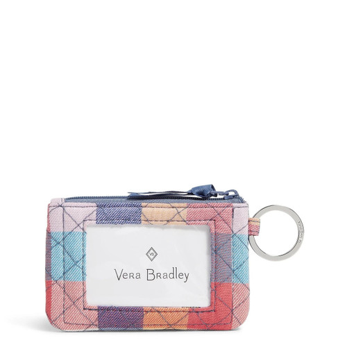 Zip ID Case Tropics Plaid by Vera Bradley