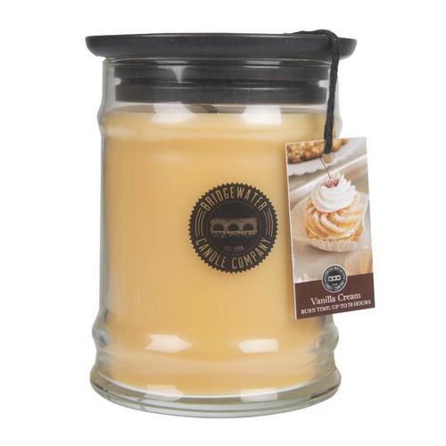 Vanilla Cream Small Jar Candle - Bridgewater