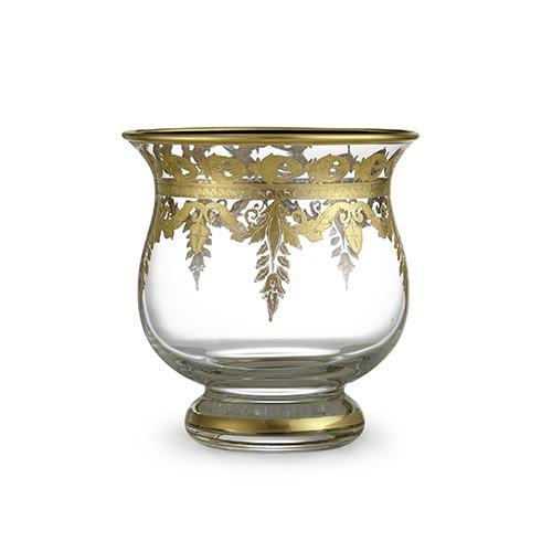 Vetro Gold Votive Candleholder - Arte Italica