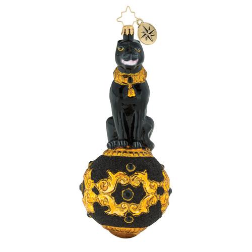 Midnight Compeller Ornament by Christopher Radko