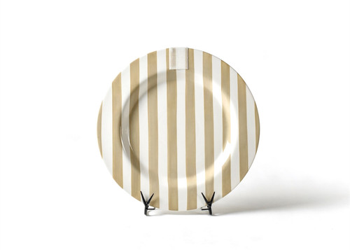 Neutral Stripe Entertaining Big Platter by Happy Everything!