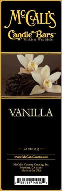 Vanilla McCall's Candle Bar