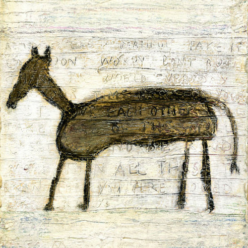 """36"""" x 36"""" Horse Art Print by Sugarboo Designs - Special Order"""