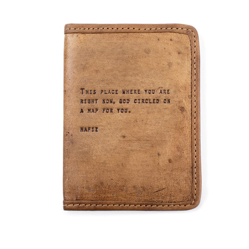 Hafiz Passport Cover by Sugarboo Designs - Special Order