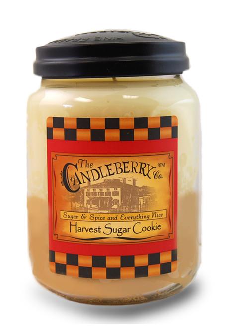 Harvest Sugar Cookie 26 oz. Large Jar Candleberry Candle