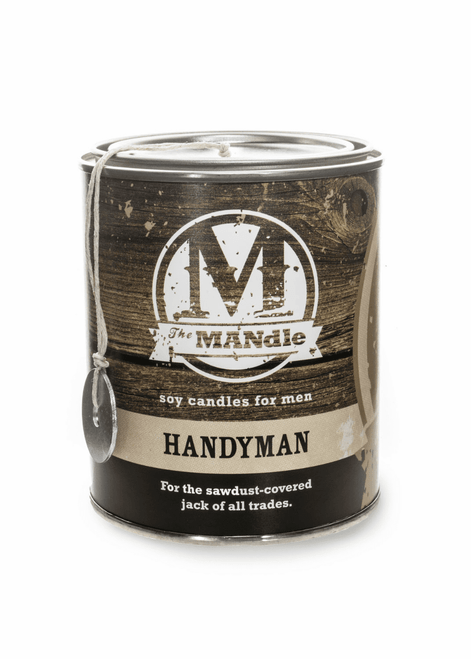 Handyman 15 oz. Paint Can MANdle by Eco Candle Co.