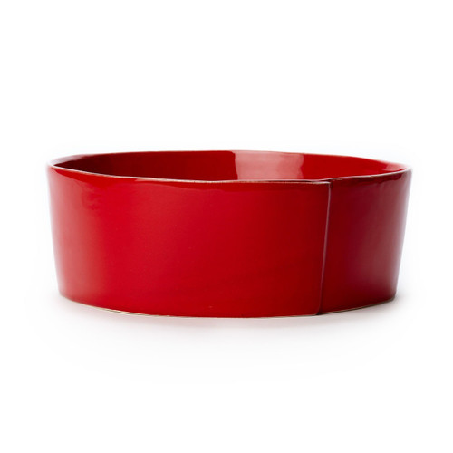 Vietri Lastra Red Large Serving Bowl - Special Order