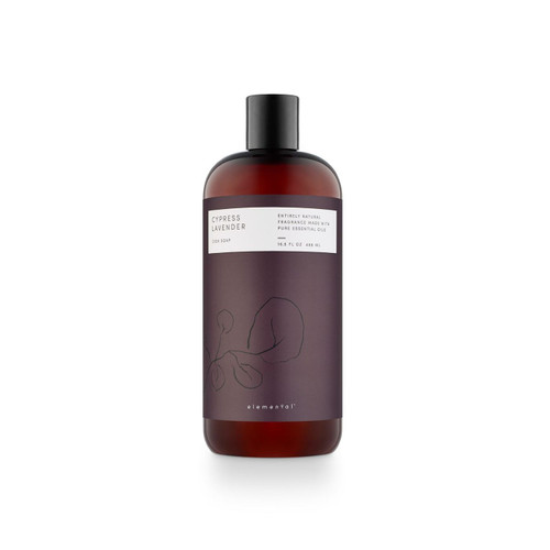 Cypress Lavender Elemental Dish Soap by Illume Candle