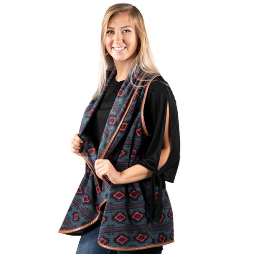 Large Aztec Vest by Simply Southern