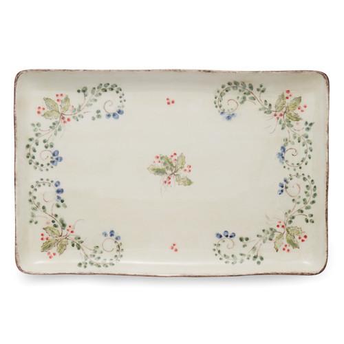 Medici Festivo Rectangular Platter - Arte Italica