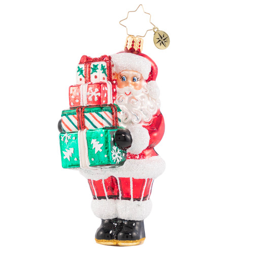 Time To Celebrate! Ornament by Christopher Radko -