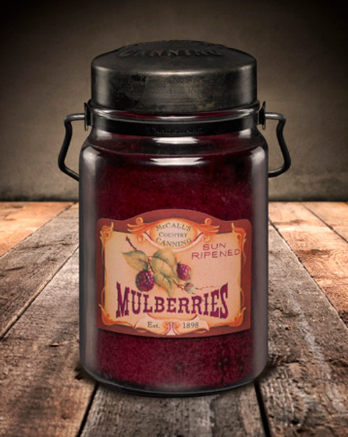 Mulberry 26 oz. McCall's Classic Jar Candle