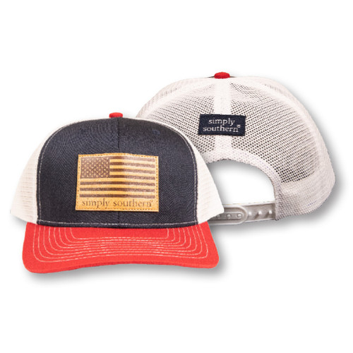 USA Flag Guys Hat by Simply Southern