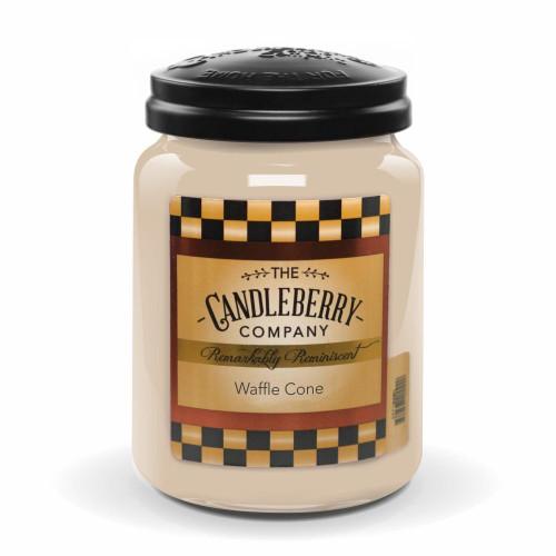 Waffle Cone 26 oz. Large Jar Candle Candleberry Candle