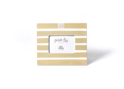 Neutral Stripe Mini Frame by Happy Everything!