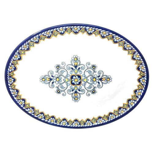 """Sorrento 16"""" Oval Platter by Le Cadeaux"""