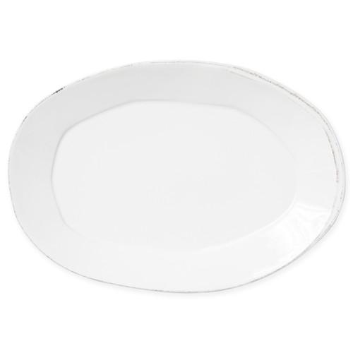 Vietri Lastra Linen Oval Platter - Special Order