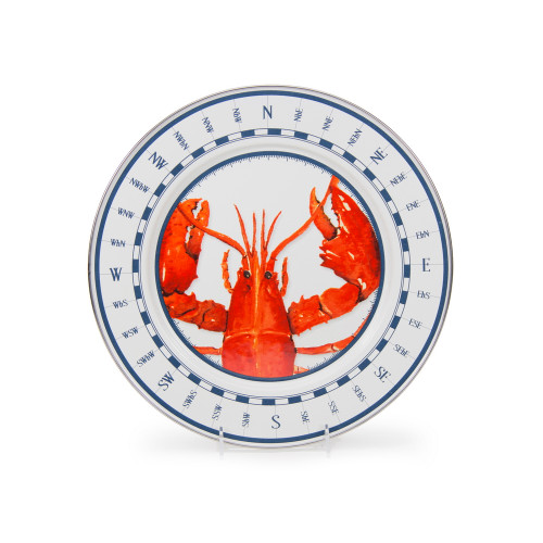 Set of 2 - Lobster Charger by Golden Rabbit - Special Order
