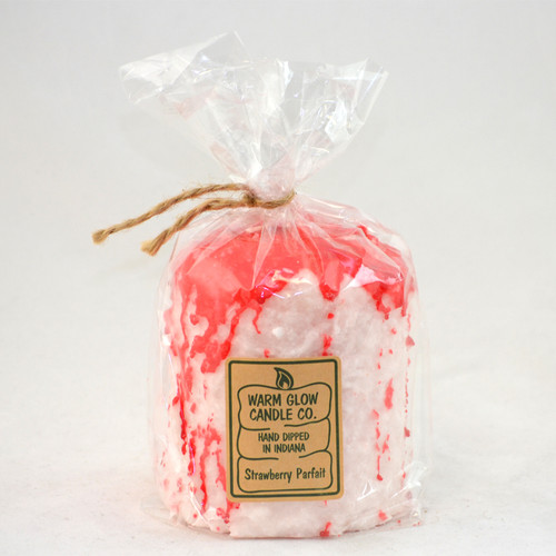 Strawberry Parfait Hearth Candle by Warm Glow Candles