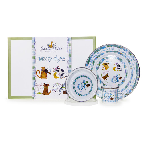 Nursery Rhyme 3-Piece Child Gift Set by Golden Rabbit - Special Order