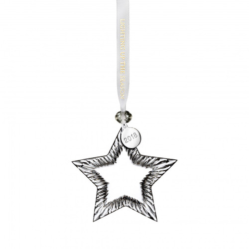 Blank Star Ornament by Waterford
