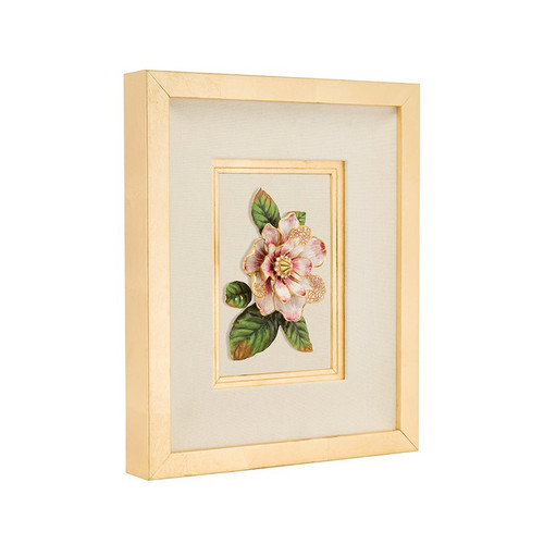Jay Strongwater Essie Magnolia Wall Art - Special Order