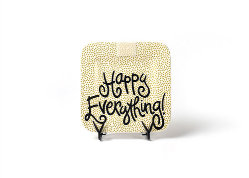 Gold Small Dot Mini Square Platter by Happy Everything!