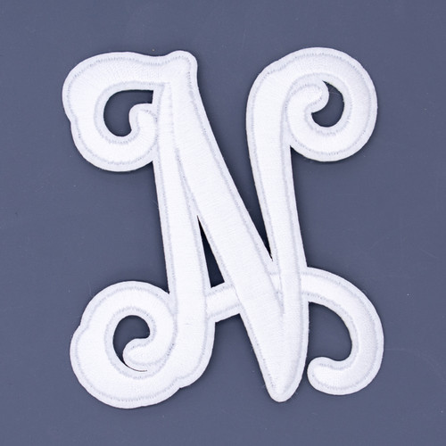 """Letter """"N""""  White Monogram by Simply Southern"""