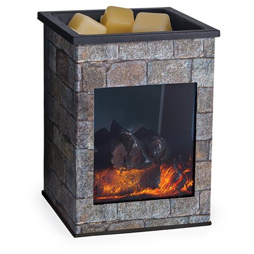 Glass Hearthstone Illumination Fragrance Warmer