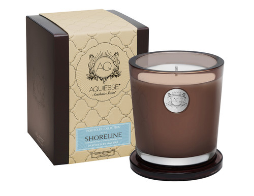 Shoreline Large Soy Candle by Aquiesse