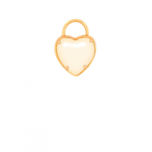 Pure Heart Padlock Charm - Style Spartina 449
