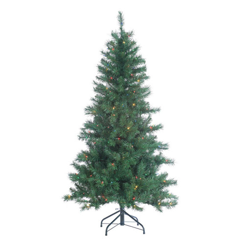 Colorado 5 ft. Spruce wiht Multi-Colored Lights by Sterling Tree