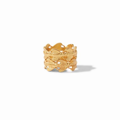 Julie Vos Bee Stacking Ring Set - Size 7