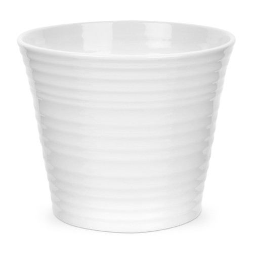 Sophie Conran White Flower Pot by Portmeirion - Special Order