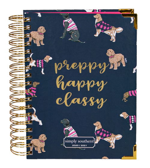 2020-2021 Dog Planner by Simply Southern
