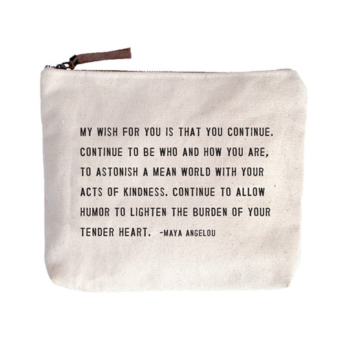 My Wish For You Canvas Bag by Sugarboo Designs