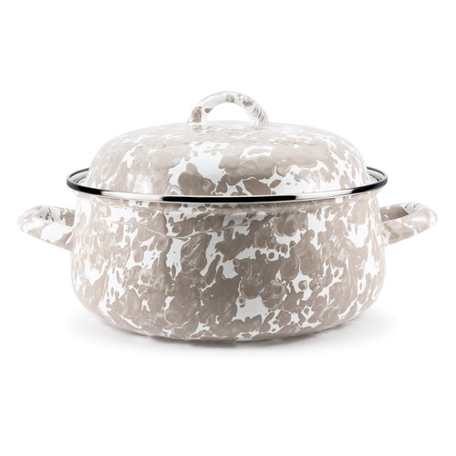 Taupe Dutch Oven by Golden Rabbit - Special Order