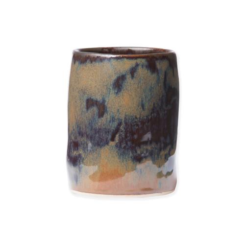Vietri Bath Essentials Tortoise Round Vase - Special Order