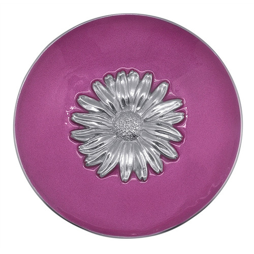 Pink Daisy Relief Bowl by Mariposa
