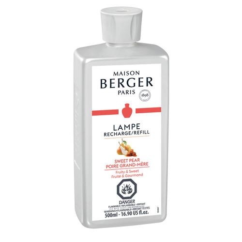 Sweet Pear 500 ml (16.9 oz.) Fragrance Lamp Oil - Lampe Berger by Maison Berger