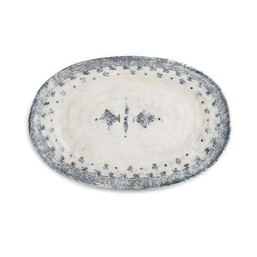 Burano Large Oval Platter - Arte Italica