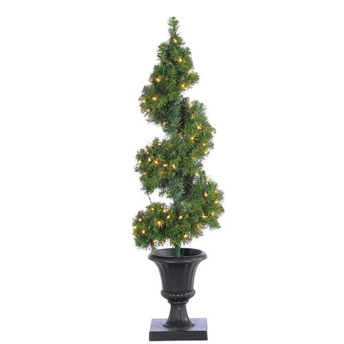 Potted Spiral 4 ft. Tree by Sterling Tree