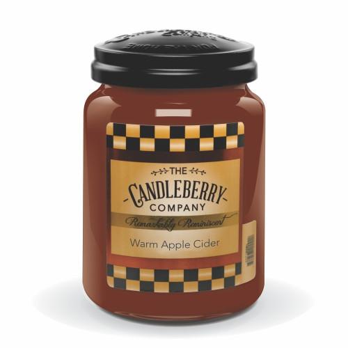 Warm Apple Cider 26 oz. Large Jar Candleberry Candle