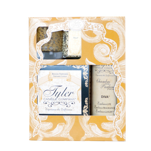Diva Glamorous Gift Suite II by Tyler Candle Company