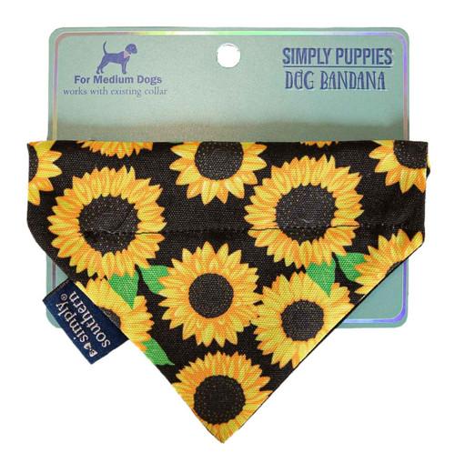 Medium Sunflower Bandana by Simply Southern